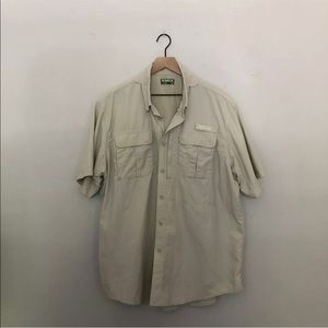 Outdoor Life Adventure Shirt Button Up Vented Back